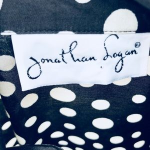 Jonathan Logan Jackets & Coats - Ladies Vintage Polka Dot Cotton Blazer